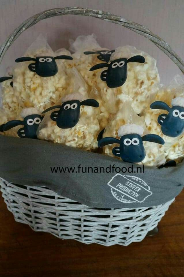 shaun the sheep popcorn treats aardman animation pinterest p ques activit manuelle. Black Bedroom Furniture Sets. Home Design Ideas