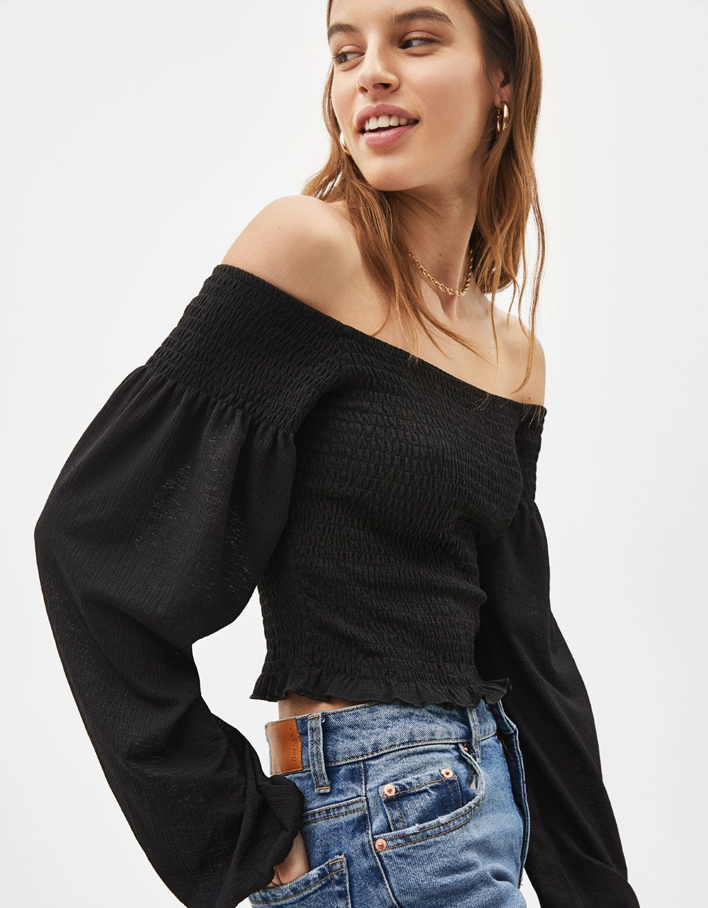 16fe4306d Tees - COLLECTION - WOMEN - Bershka United States | 2019 in 2019 ...