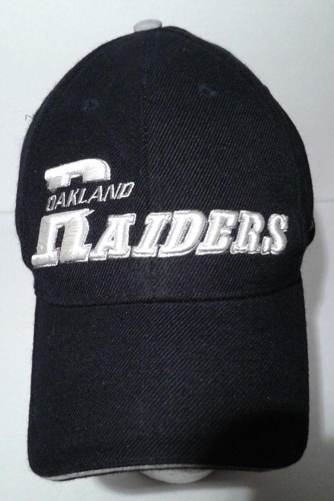 3dd74c0cc69a8 Oakland Raiders Adjustable Hat Puma NFL ProLine Authentic Baseball Cap  Football  Puma  OaklandRaiders