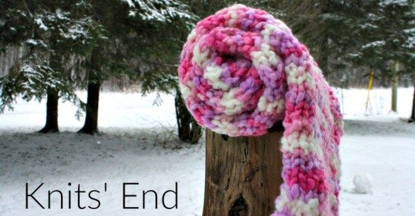 Knit a Simple Bulky Scarf to Treat Yourself or for Charity (Craft ...