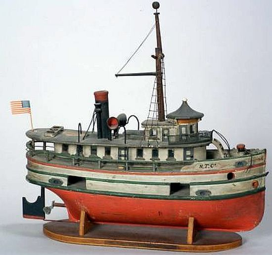 Steam Lakes Eddie The Model Freighter Wooden Martin Great Painted Of hdBtQxrsC