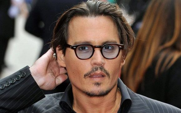 2a7dc36c9c Johnny Depp in Moscot Lemtosh Tortoise