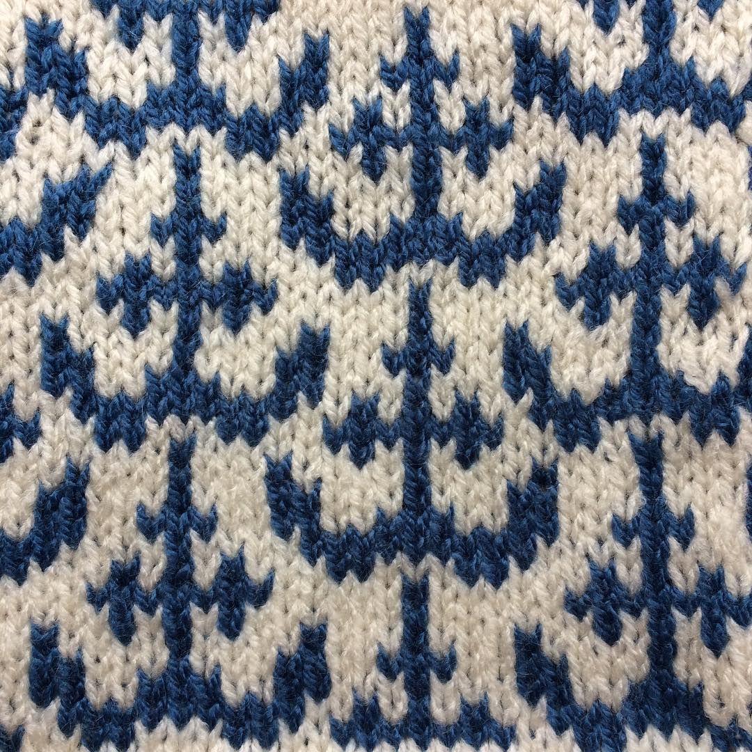 Nautical Knitting ⚓️⚓️⚓️ #alterknit #knitting #nautical # ...