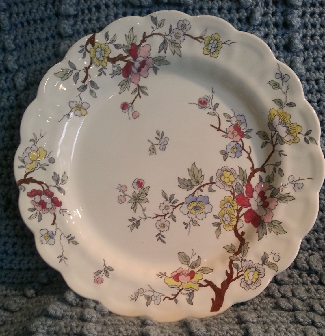 Booths Chinese Tree A8001 Dinner Plate - Made in England - Vintage Plate - Collectible Plate - China Dinner Plate by 60YearsOfLove on Etsy & Booths Chinese Tree A8001 Dinner Plate - Made in England - Vintage ...