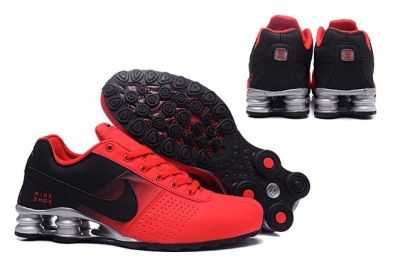 Nike Shox Deliver Men Shoes Fade Red Black Silver Casual Trainers Sneakers  317547 2f0695572