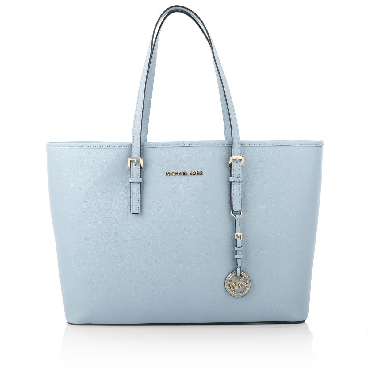 bf21cbf49872 Buy michael kors pale blue tote > OFF59% Discounted