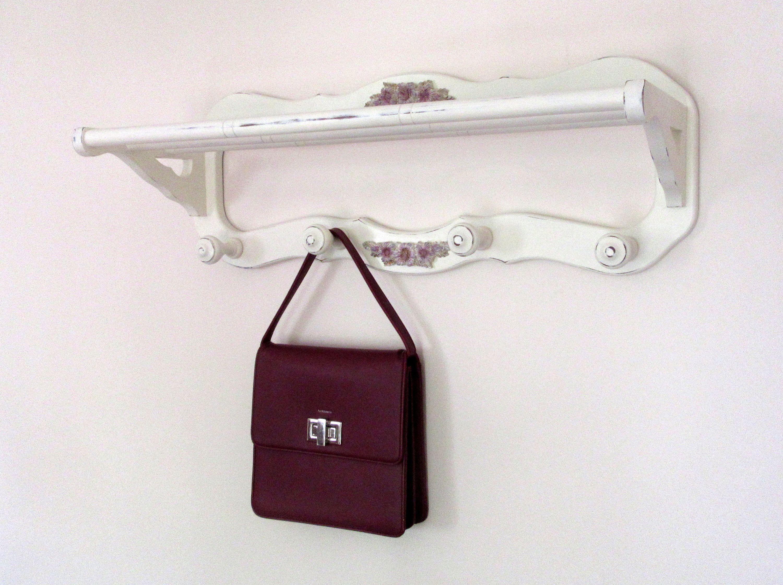 4 ganchos Perchero de pared con forma de p/ájaro en /árbol para abrigos colgador de ropa sombreros de GRANDLIN toallas llaves