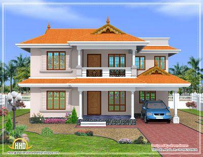 Home Balcony Design Home Design Ideas House Balcony Design Village House Design Traditional House Plans