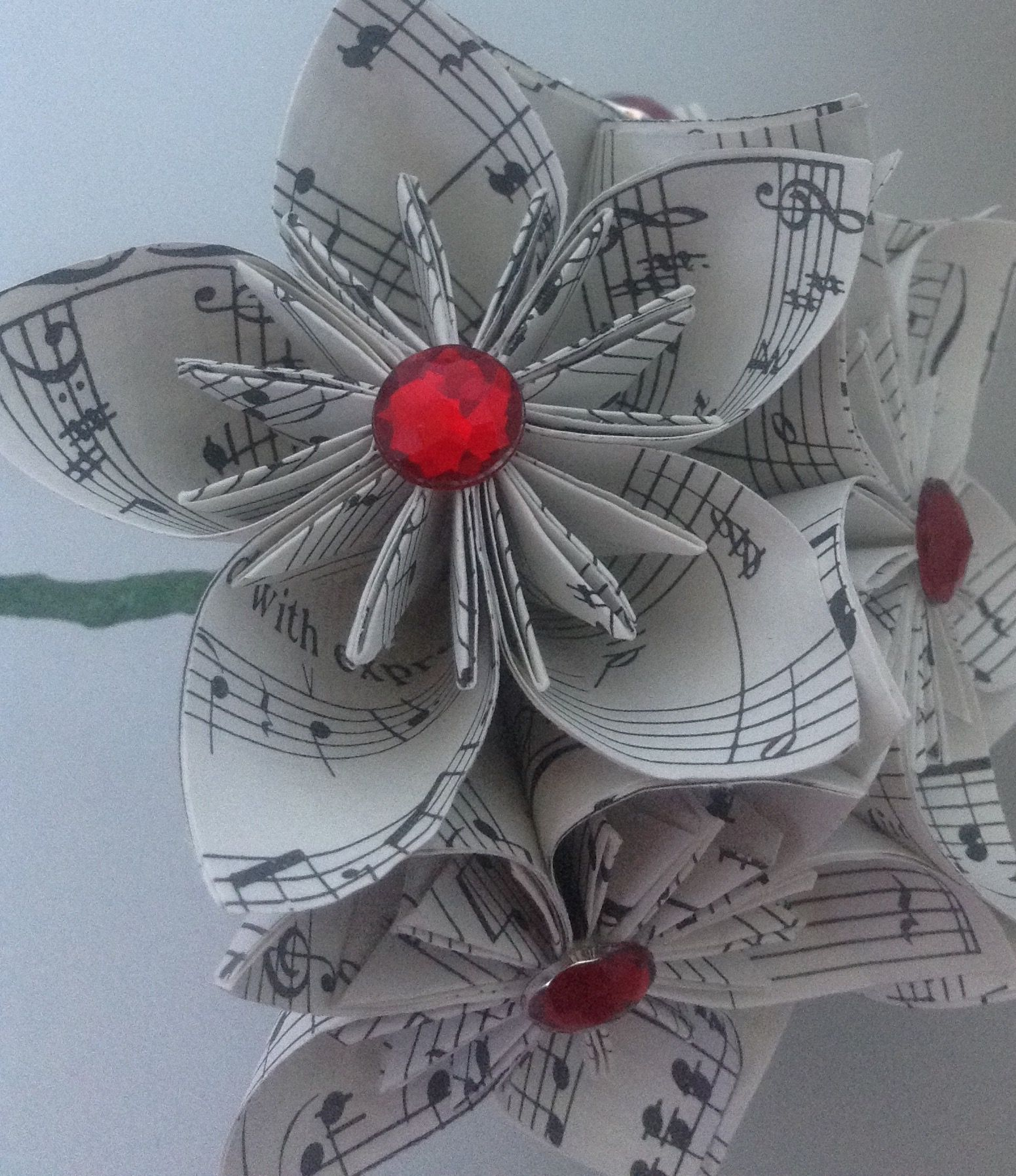 How to Fold a Paper Rose (with Pictures) - wikiHow | 1795x1551