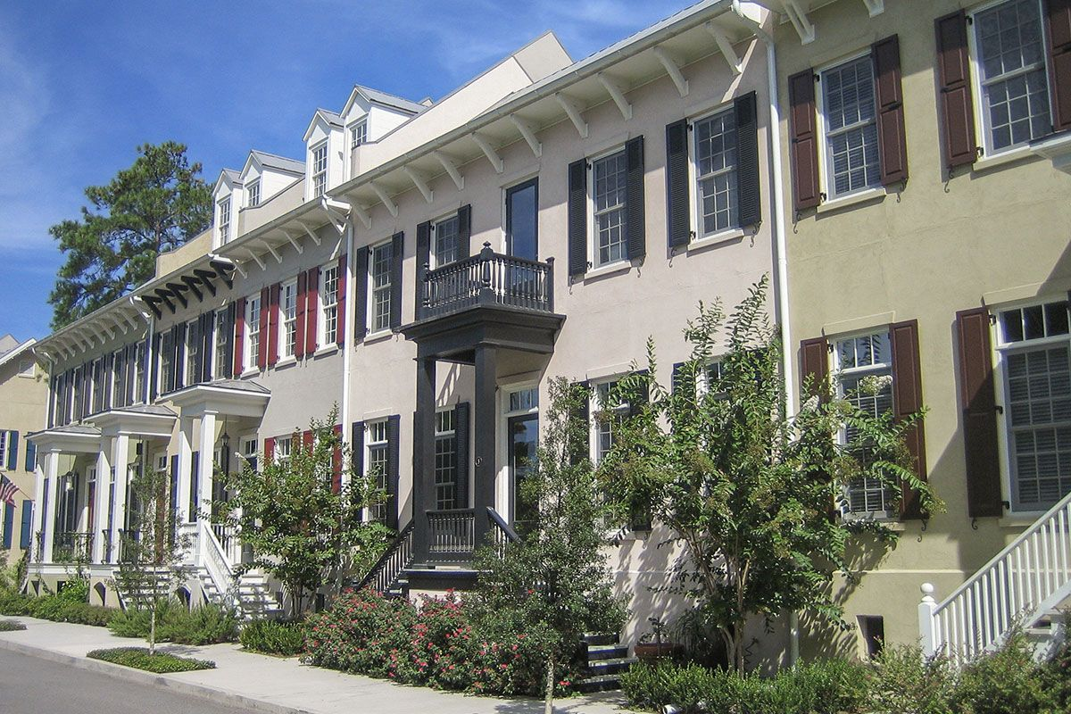 Townhouse Missing Middle Housing Townhouse House Styles Mansions
