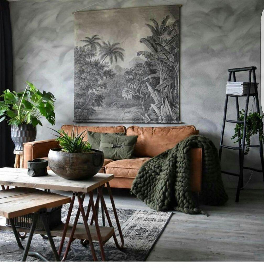 Een Stoere Binnenkijker Met Een Industrieel Interieur Makeover Nl Interieur Woonkamer Home Decor Industriele Woonkamers