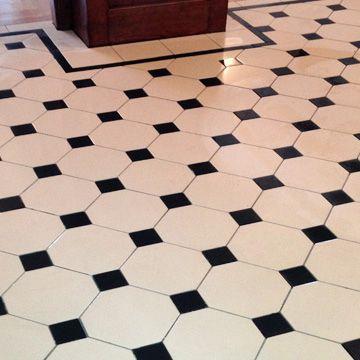 Lovely 1930 Floor Tiles Tiny 2 Inch Ceramic Tile Rectangular 20 X 20 Floor Tile Patterns 24 Ceramic Tile Youthful 24 X 24 Ceramic Tile Blue2X4 Ceiling Tile London Mosaic   Victorian Style Octagon Tiles   Terrazza ..