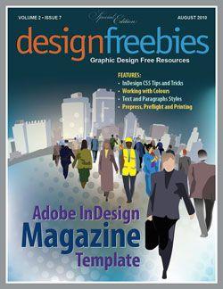 magazine indesign template indesign indesigntemplates