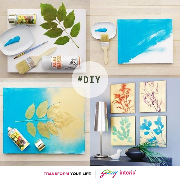 #DIY: Why to opt for expensive frames when you can create your own at home! #diy #decor #frame #fancy #decorideas #home #art #creative #inexpensive #lifestyle