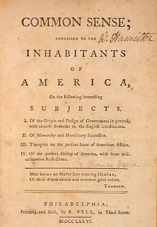 1776 A Pamphlet Written By Thoma Paine That Called For The United State To Declare Independence Common Sense American Revolution Essay Analysi Why Wa Paine' Significant Quizlet