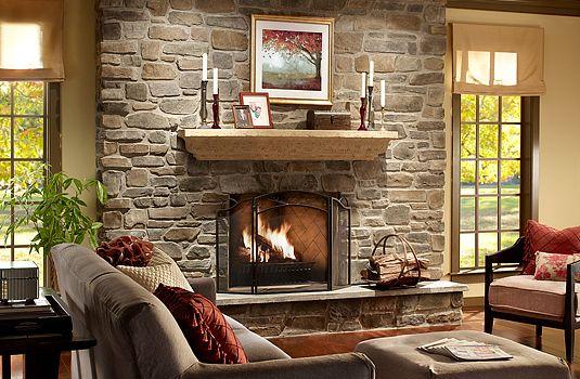 Eldorado Stone Andante Fieldledge Stone Fireplace Surround Stone Fireplace Designs Fireplace Design