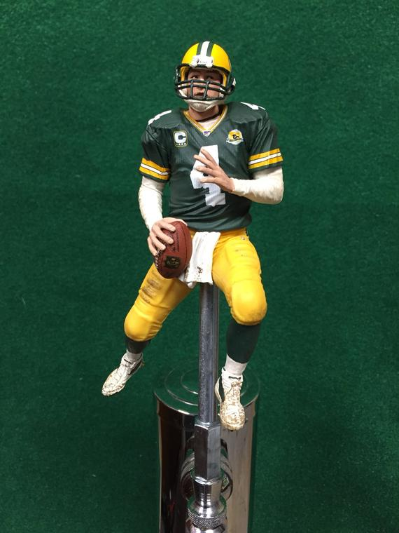 finest selection 3e8eb 2417b Green Bay Packers Tap Handle NFL Football Quarterback Beer ...