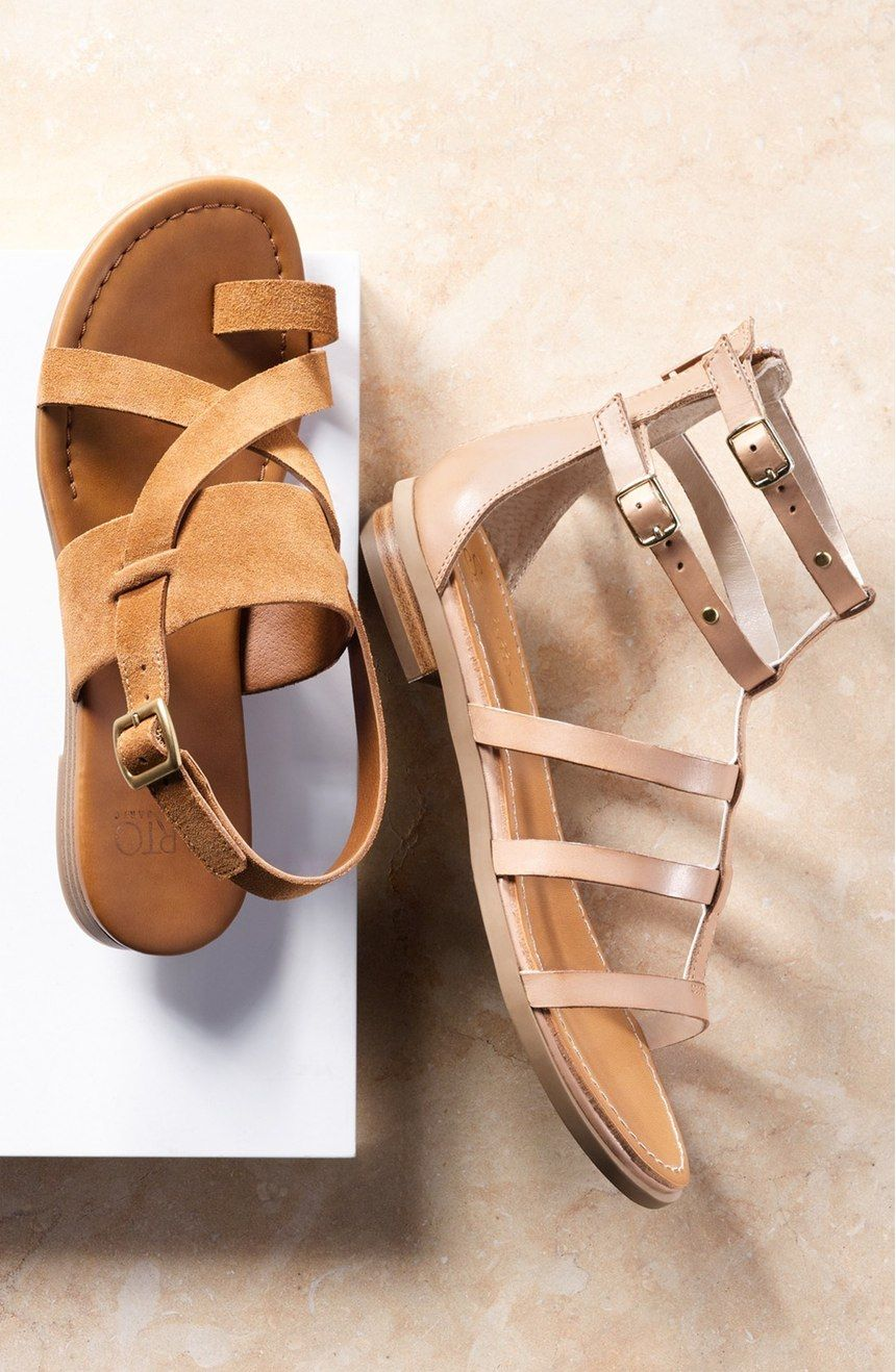 3d5fe74041d07 Seychelles 'Peachy' Gladiator Flat Sandal (Women) | SS16 | Pinterest ...