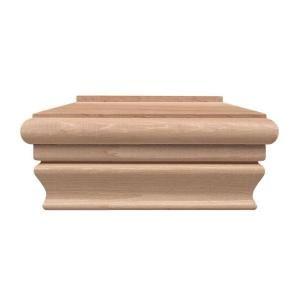 Best 4 In X 4 In Red Cedar Flat Post Cap 404960 At The Home 400 x 300