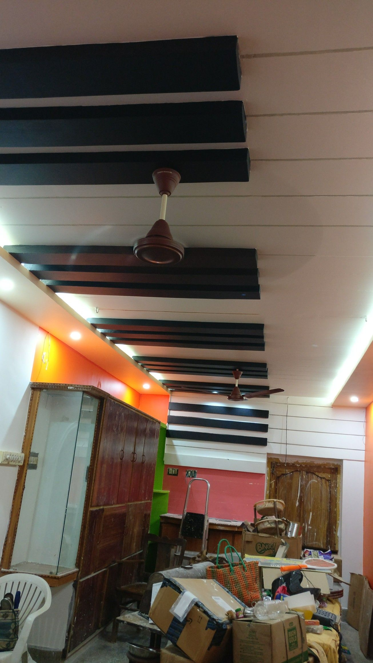 Piano Style False Ceiling In 2019 Ceiling Design Home
