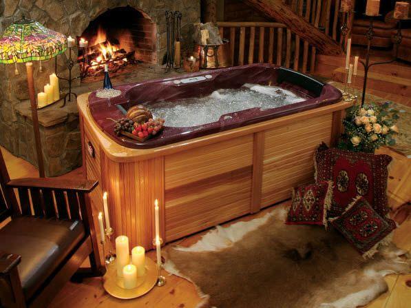 Portable Hot Tub Rectangular 2 Seater Gemini Thermo Spas