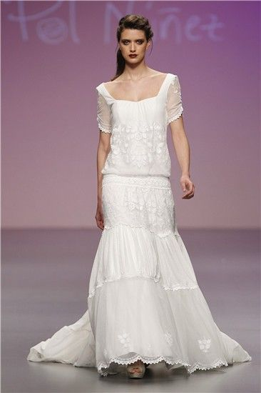 8245ceb0fc Los 10 mejores vestidos de Cibeles Madrid Novias