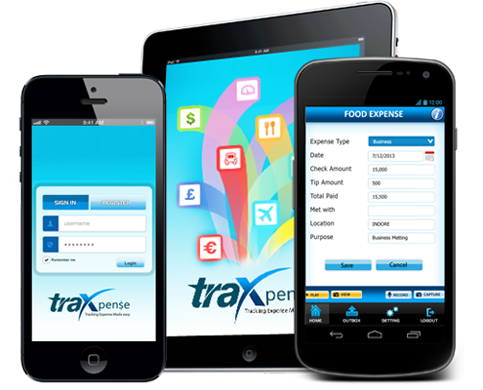 Tracking Expense made easy by Traxpense Mobile App for