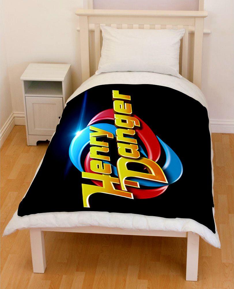 Henry Danger Bedding Throw Fleece Blanket // Price: $51.99  //     #bestgift