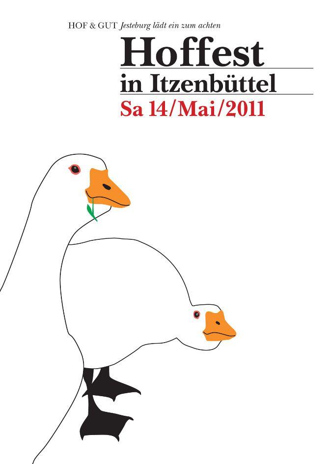 Print / CI: HOF & GUT, Itzenbüttel by Studio Joa