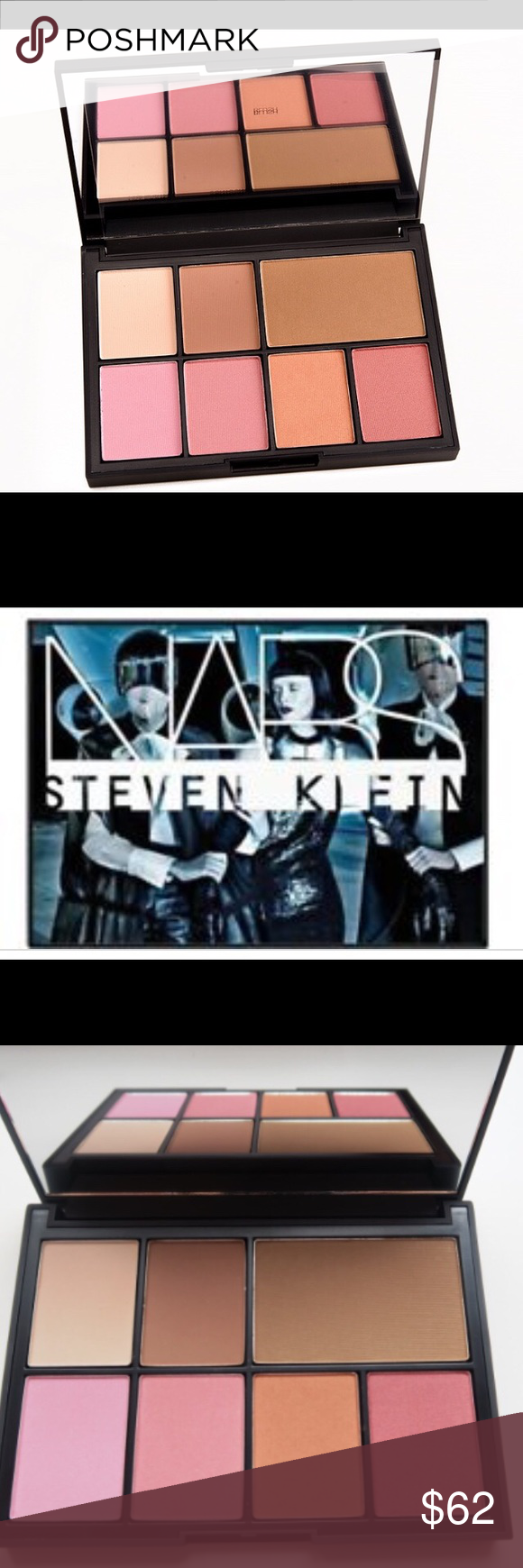 NARS Steven Klein One Shocking Moment Cheek Palett Brand