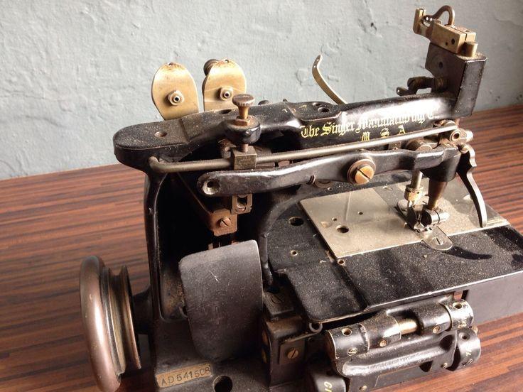 Singer Nähmaschine Alt singer 102 20 industrial chainstitch sewing machine vintage or