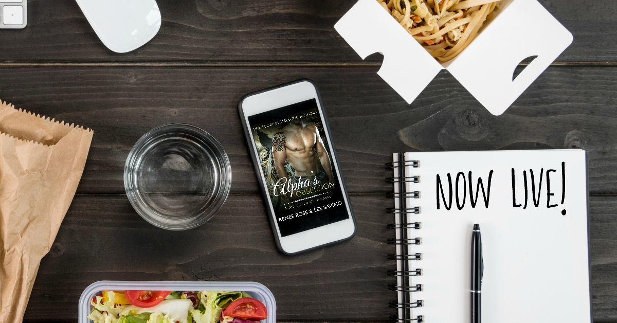 Happy book week alphas obsession by renee rose and lee