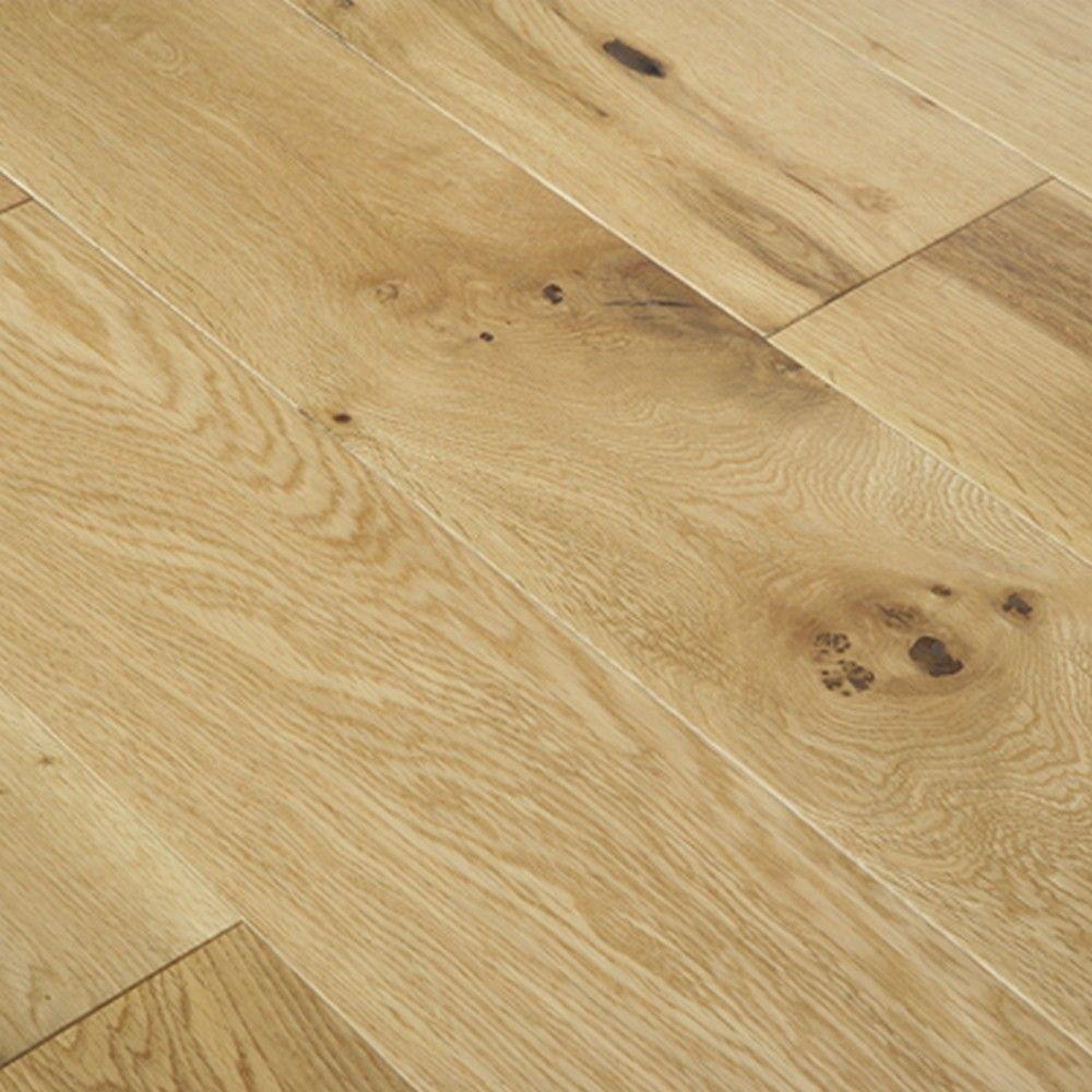 Crown Engineered Oak Wood Flooring 18mm X 150mm Lacquered J002021