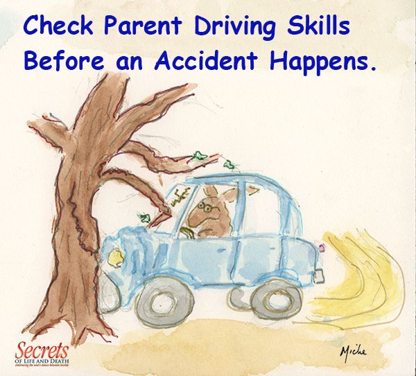 Check Parent Driving Skills Before an Accident Happens