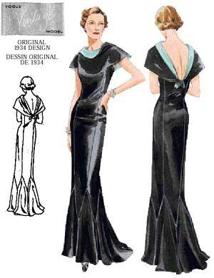 Art Deco Dress Design Art Deco Gown Art Deco Dress Art Deco Clothing