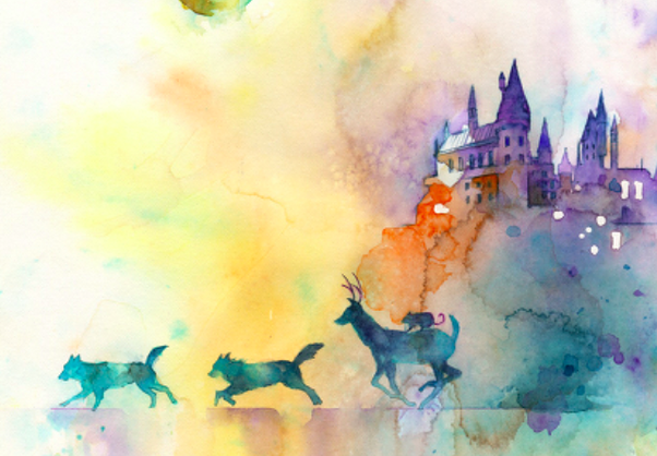 What Is Your Favorite Harry Potter Fanart Quora Fanart Harry Potter Aquarell Malen Aquarell