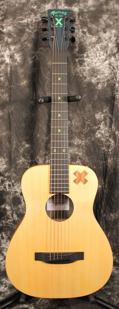 2015 Martin Ed Sheeran X Signature Edition Acoustic Electric Guitar W Gigbag Ed Sheeran Acoustic Electric Guitar Guitar