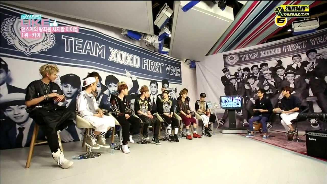 140128 EXO의 팬사랑 + Idol ranking  찬열. 카이.첸