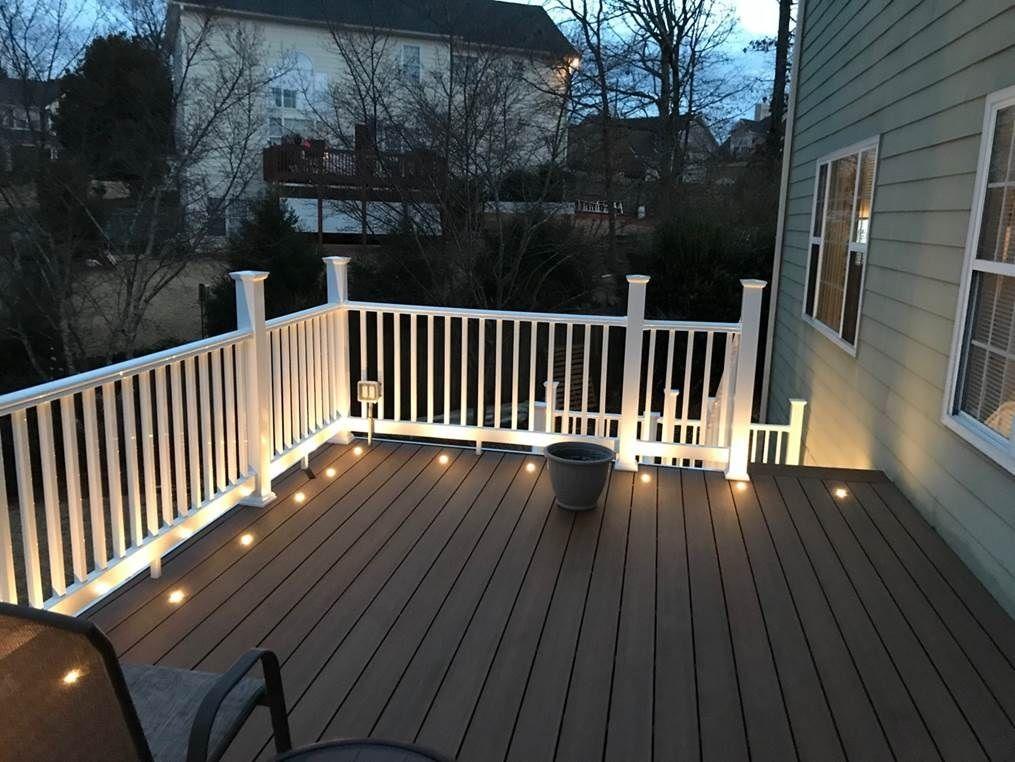 Truorganics Composite Decking 16 Ft Boards Dark Brown Sample Composite Decking Deck Low Maintenance Garden Design