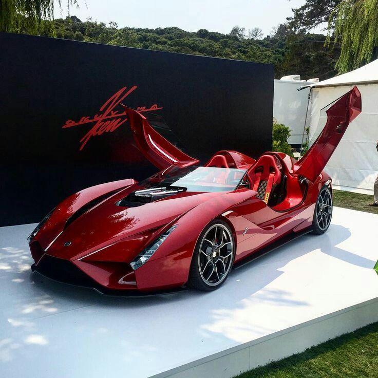 Affordable 4 Door Sports Car: Ferrari Enzo Designer Stuns The Crowd With A Carbon Fiber