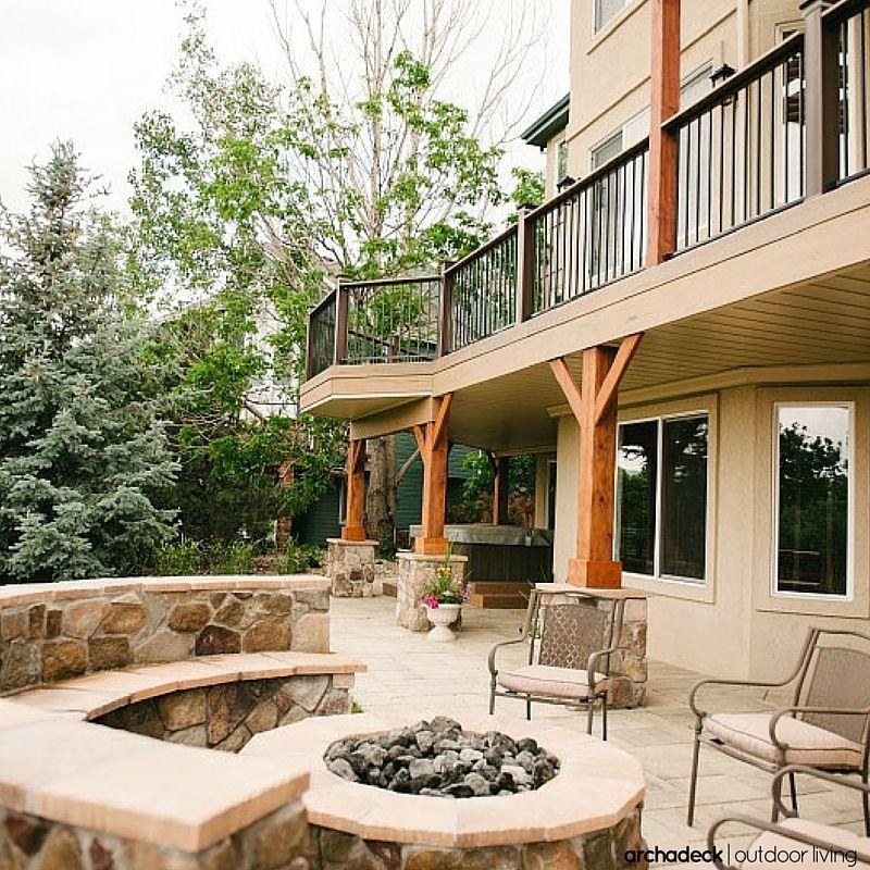 patio deck backyard patio designs