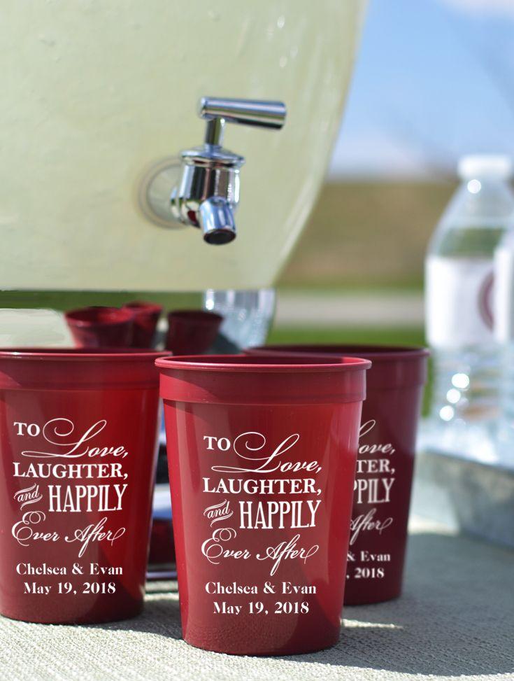 12 Oz Custom Printed Plastic Souvenir Stadium Cups Set Of 25 Wedding Drink Station Ideas Pinterest Dream And