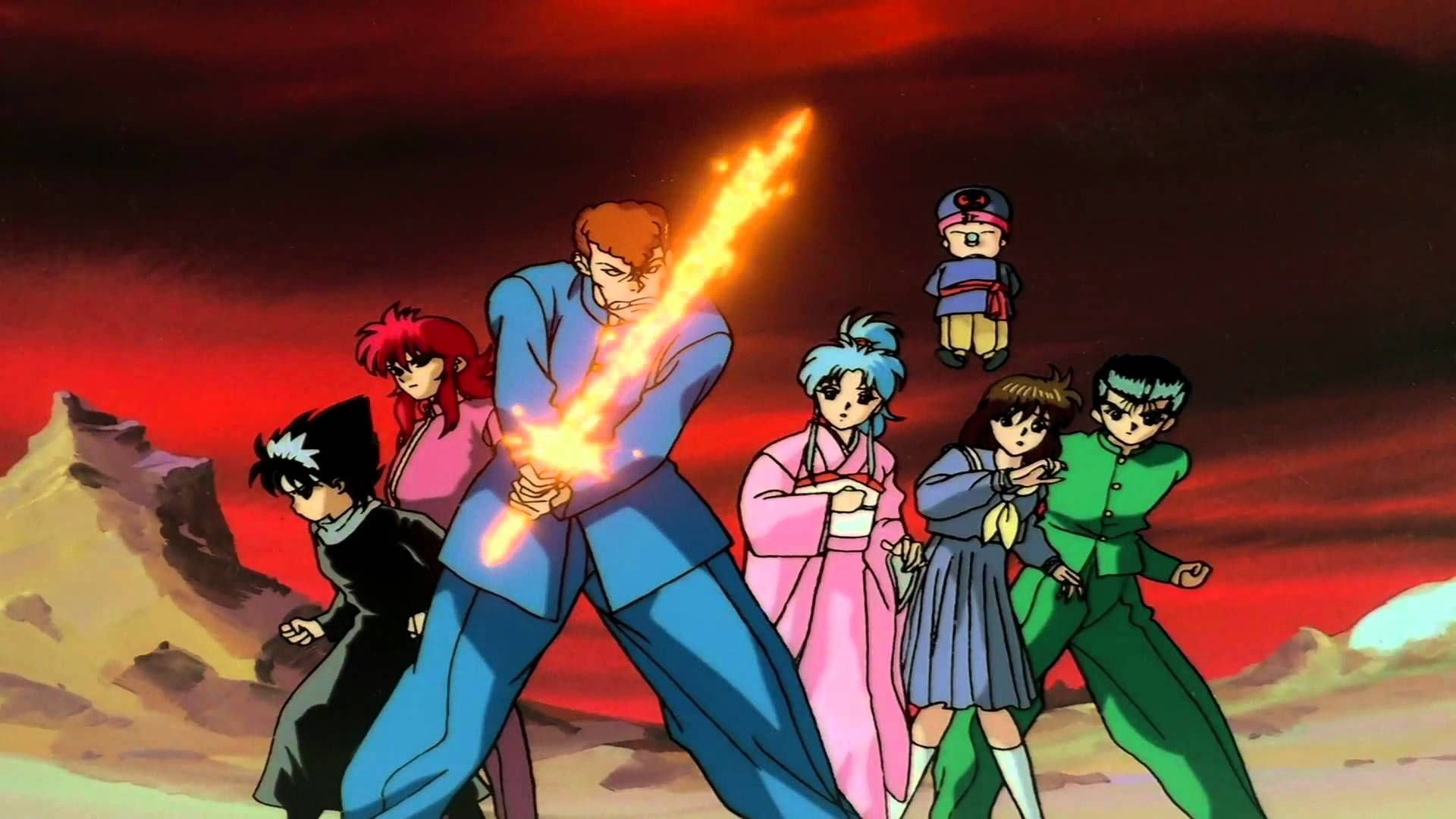 Yu Yu Hakusho Very Good Story One Of My Favorite Animes About