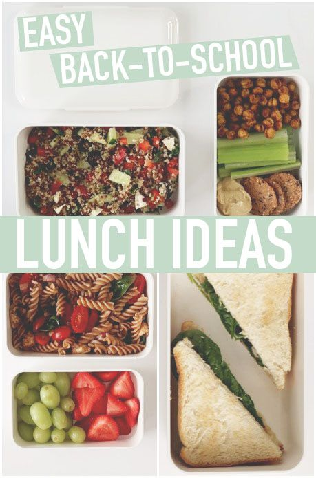 Easy Back To School Lunch Ideas Perfect For University College