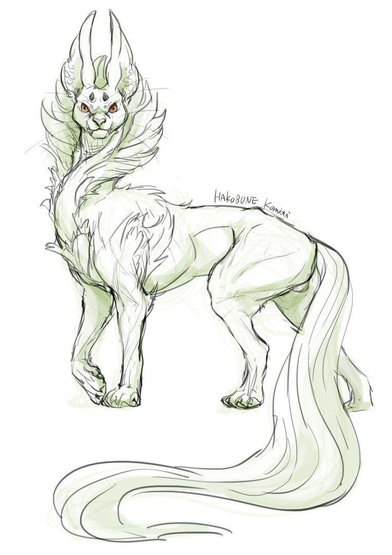 Картинки для срисовки мифические животные