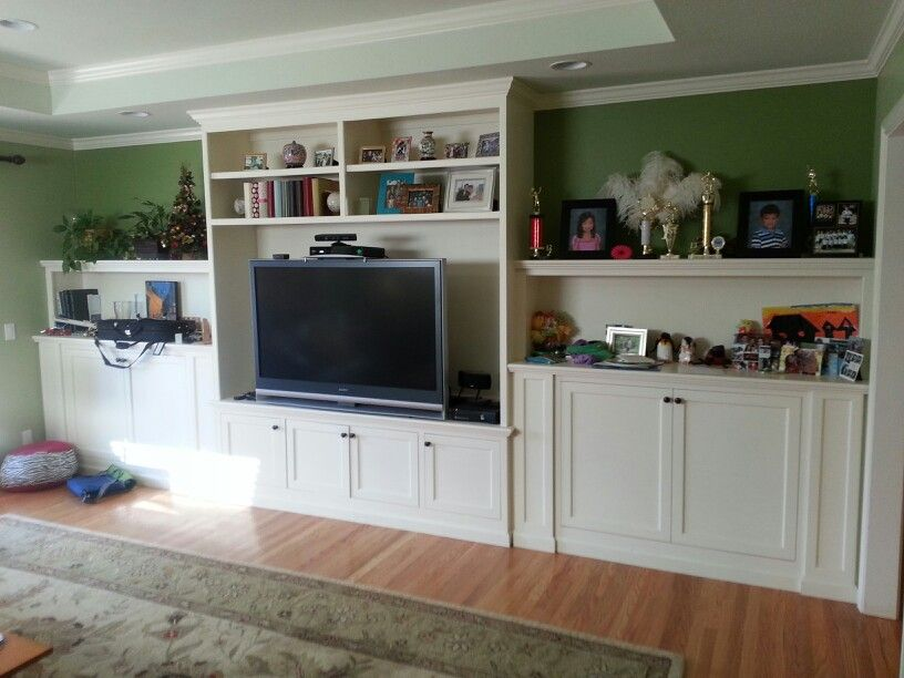 Painted Wall Unit For 80 Inch Tv Wall Unit Entertainment Center