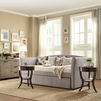 <strong>Kingstown Home</strong> Cataleya Trundle Daybed in Grey