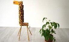 DIY : Une maxi girafe en rouleaux d'essuie-tout