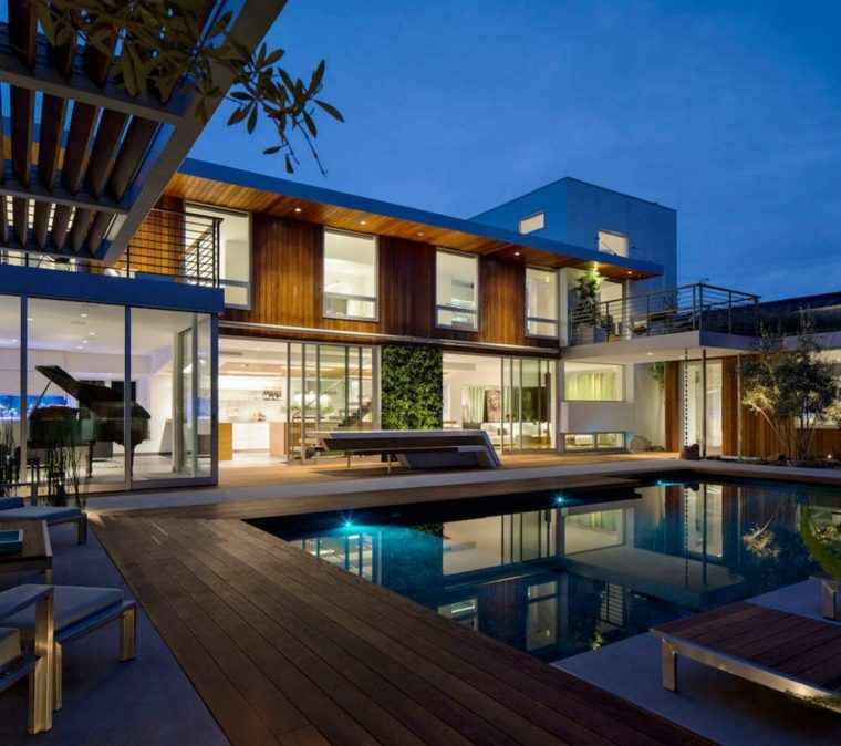 amnagement jardin avec piscine 75 ides pour sinspirer