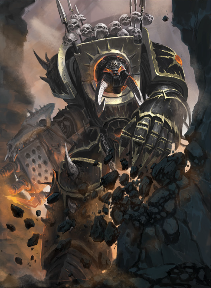 Image result for chaos terminator lord art | 40k | Chaos ...